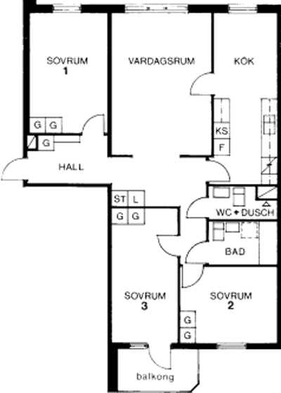 Typ:07 ,  97,6 m²