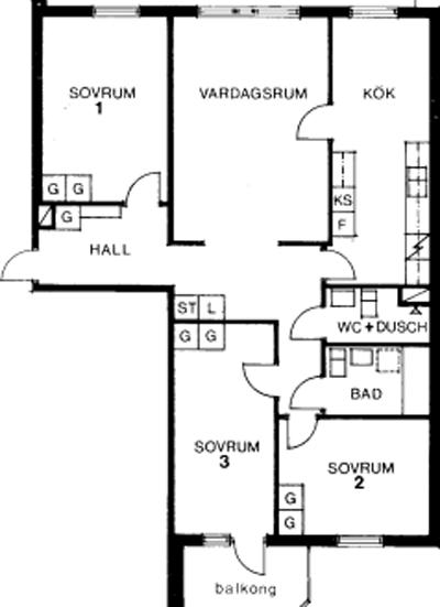 Typ:25 ,  96,9 m²