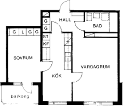 Typ:26 ,  59,3 m²