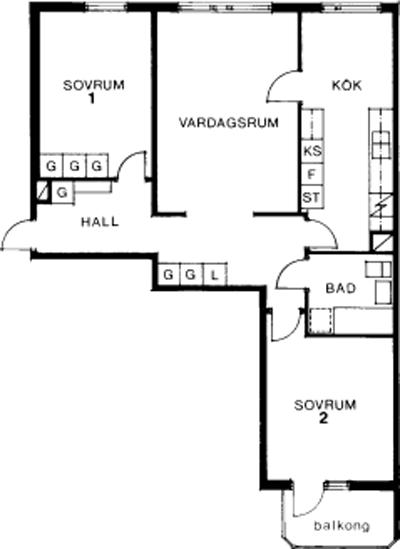 Typ:30 ,  83,1 m²