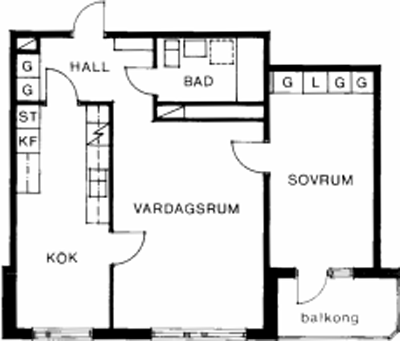 Typ:31 ,  59,1 m²