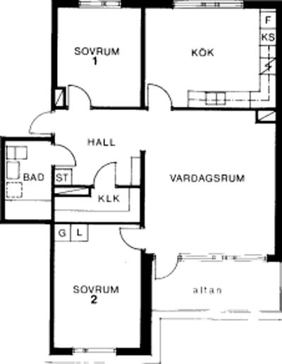 Typ:32 ,  83,1 m²