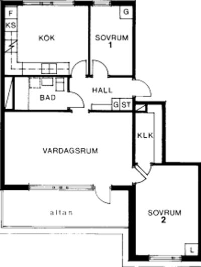 Typ:37 ,  70,8 m²