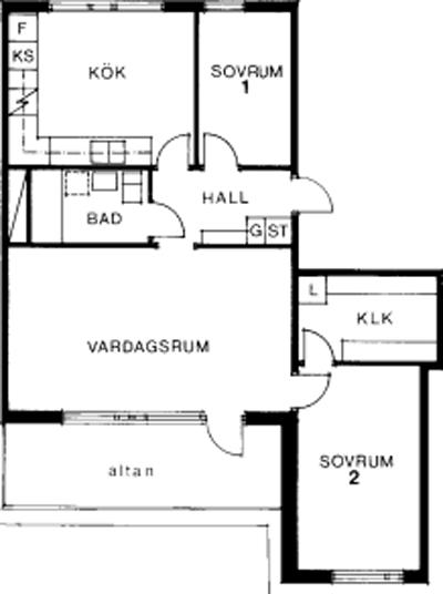 Typ:33 ,  70,8 m²