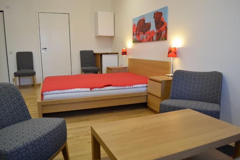 gästrummet säng